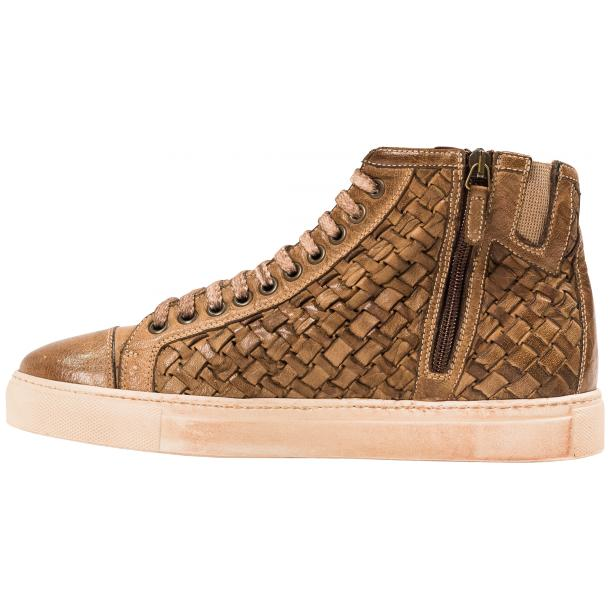 Gavin Dip Dyed Moor Hand Woven High Top Sneakers full-size #5