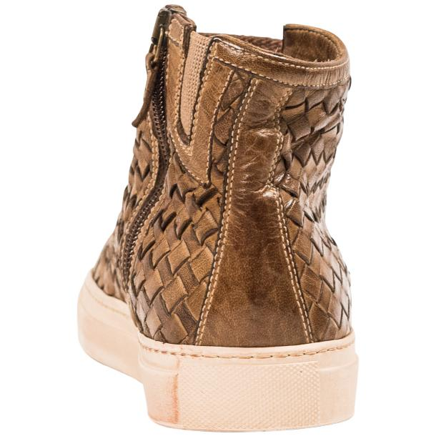 Gavin Dip Dyed Moor Hand Woven High Top Sneakers full-size #6