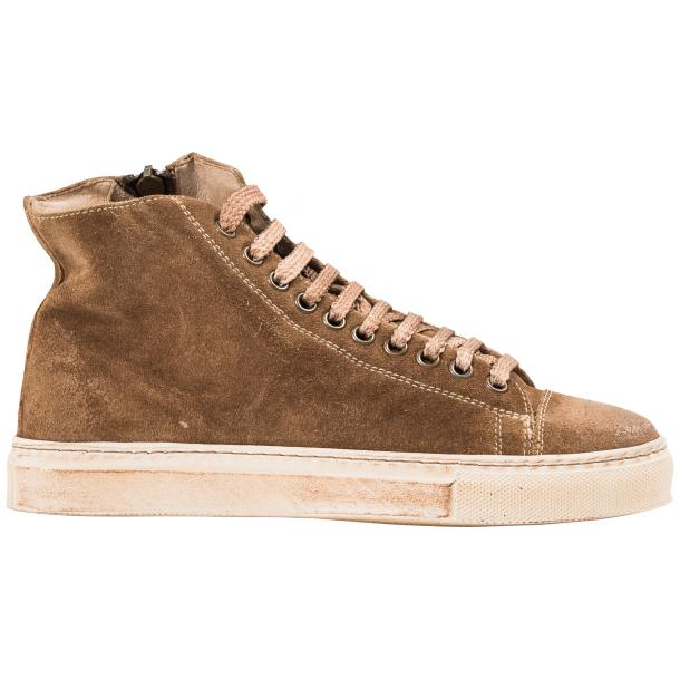 Ava Kangaroo Dip Dyed Suede High Top Sneakers full-size #4