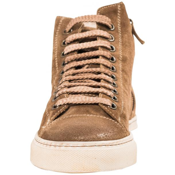 Ava Kangaroo Dip Dyed Suede High Top Sneakers full-size #3