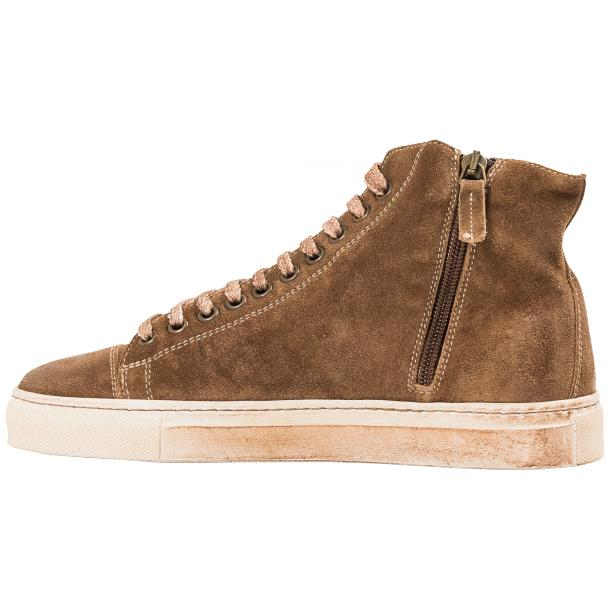 Ava Kangaroo Dip Dyed Suede High Top Sneakers full-size #5
