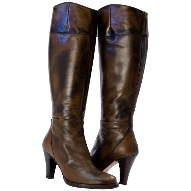 Miriam Knee-high Boot Brown full-size #1
