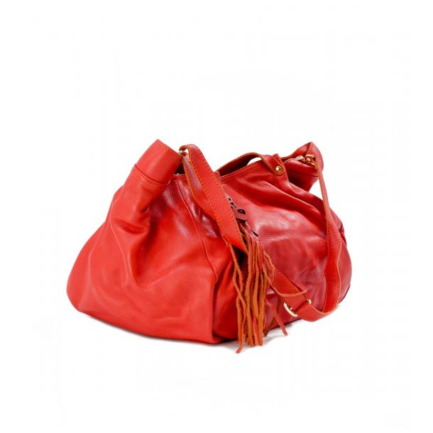 Hayes Valley Hipster Red Handle and Shoulder Bag full-size #4