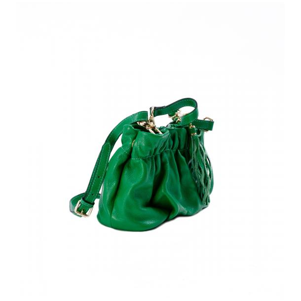 Golden Gate Park Green Handle and Shoulder Bag full-size #4