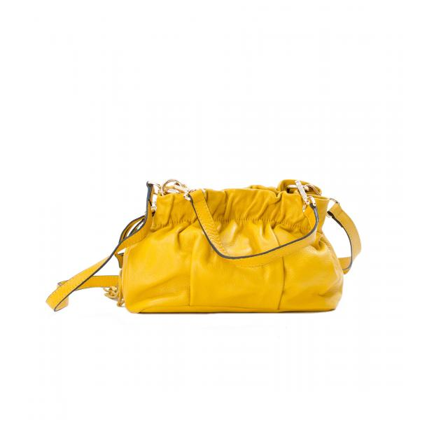 Golden Gate Park Yellow Handle and Shoulder Bag full-size #1