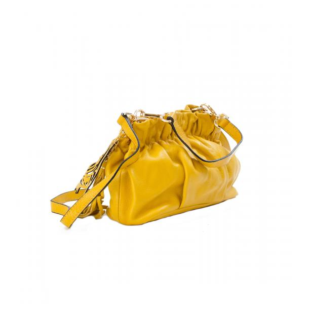 Golden Gate Park Yellow Handle and Shoulder Bag full-size #2