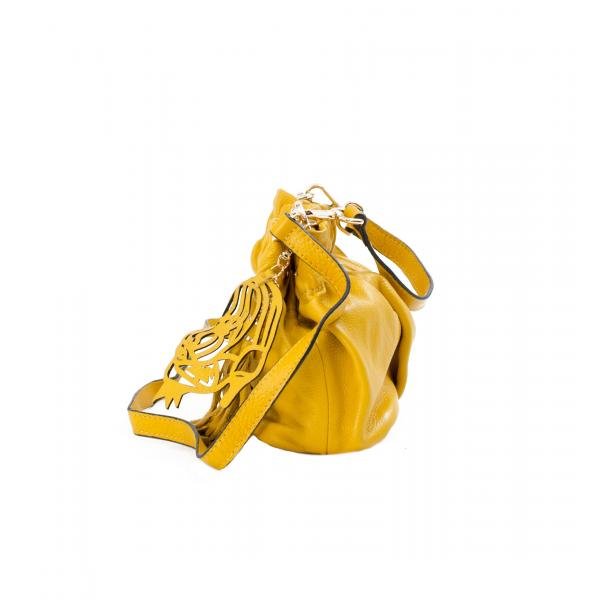 Golden Gate Park Yellow Handle and Shoulder Bag full-size #3