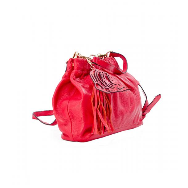 In The Mission Red Shoulder Bag full-size #4