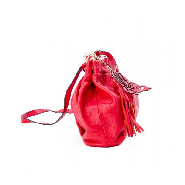 In The Mission Red Shoulder Bag full-size #2