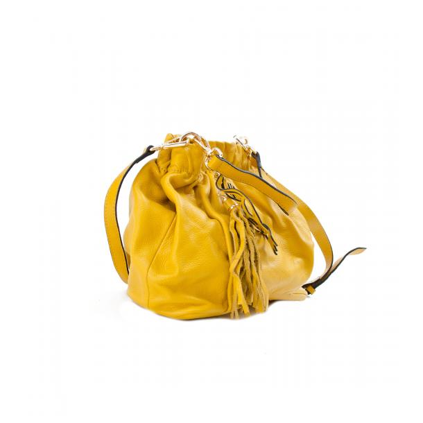 In The Mission Yellow Shoulder Bag full-size #4