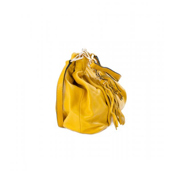 In The Mission Yellow Shoulder Bag full-size #2