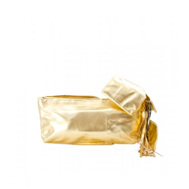 Haight-Ashbury Gold Clutch full-size #2
