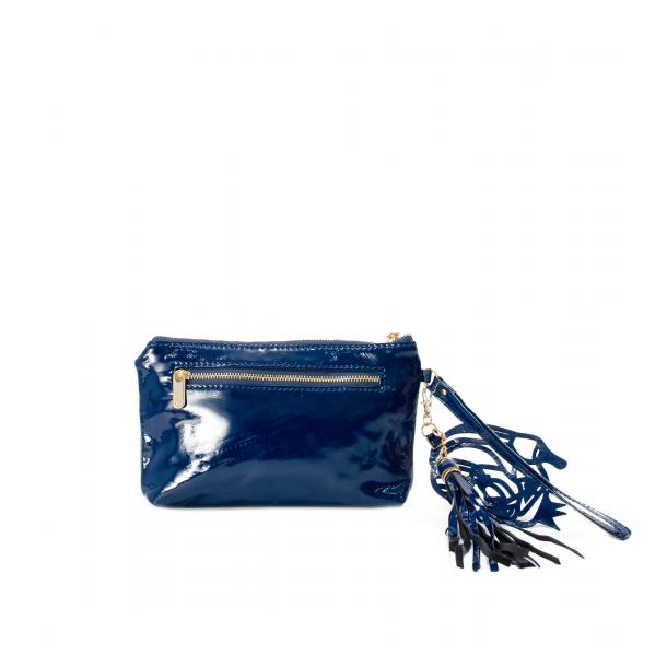 SOMA Patent Blue Clutch full-size #2
