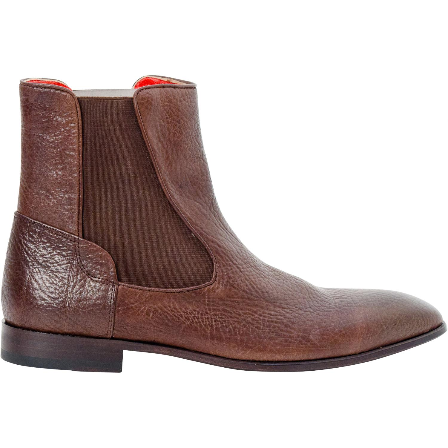efb33a5ab ... Remo Brown Buffalo Skin Beatles Boots thumb ...