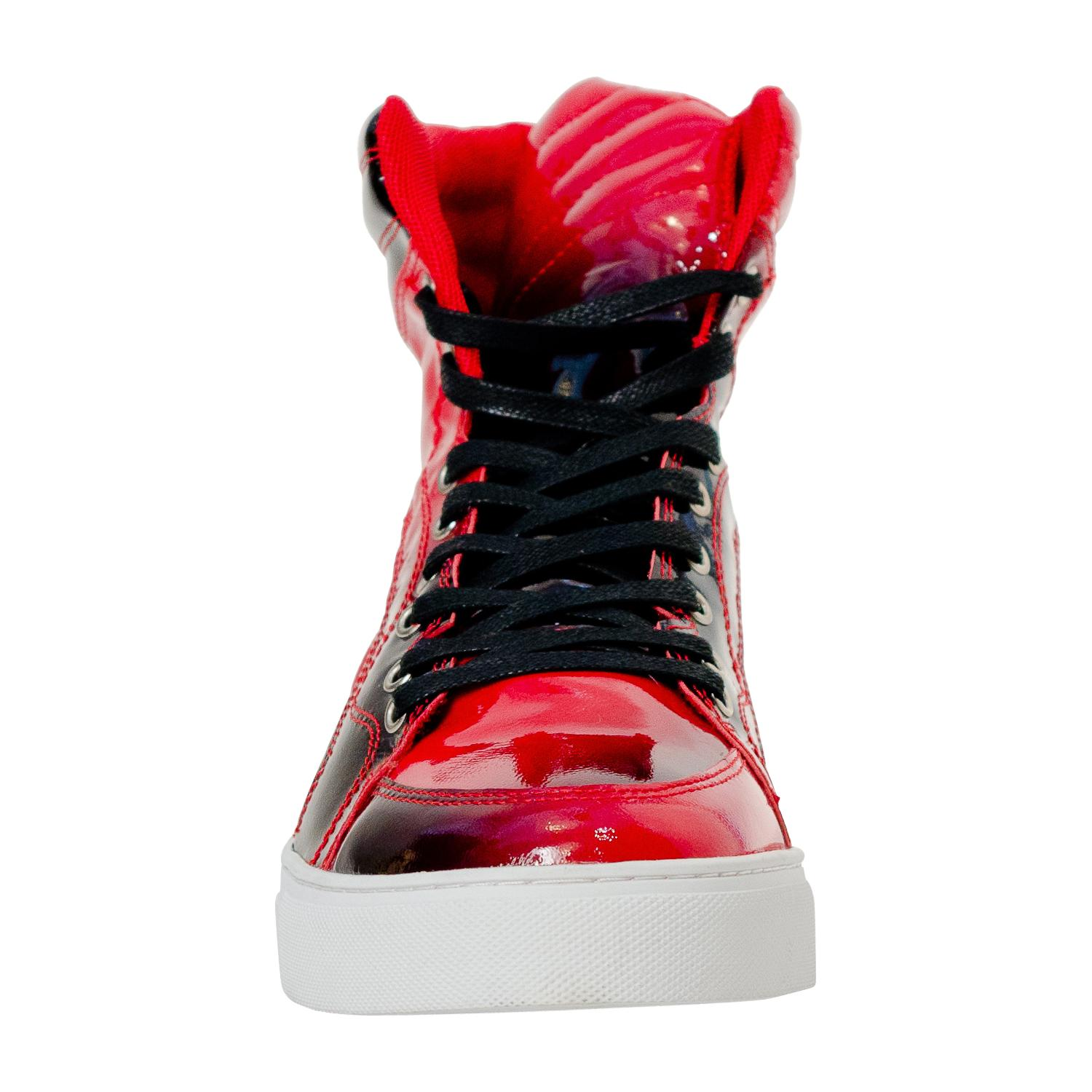 Spike Fire Red Paolo Shoes